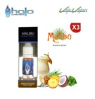 Tripack ( 3 x 10ml) MALIBU Halo