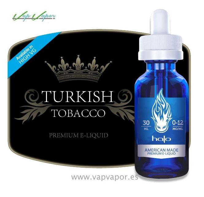 NUEVO - Halo - Turkish Tobacco 30ml 70%VG 30%PG