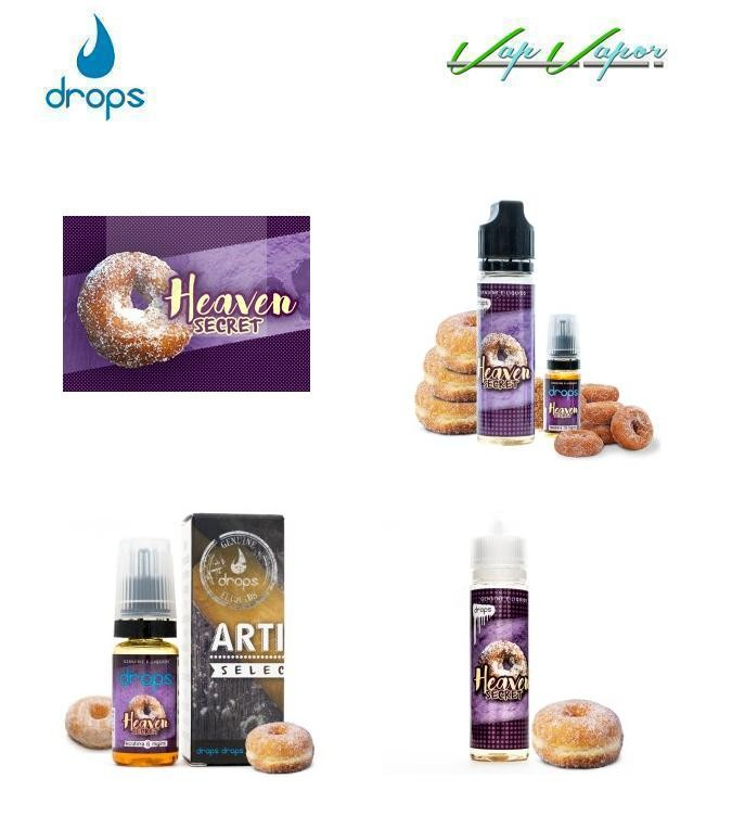 DROPS - Heaven Secret 10ml / TRIPACK (3x10ml) / 50ml (0mg) / 60ml (3mg) - Ítem2