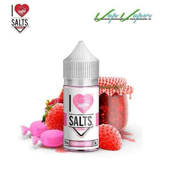 Strawberry Candy Mad Hatter 10ml 20mg I Love Salts
