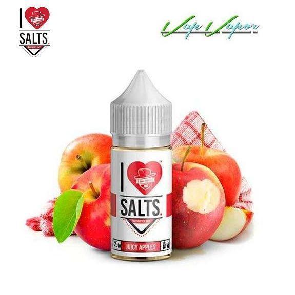 SALES Juicy Apples (Manzana) Mad Hatter 10ml 20mg I Love Salts