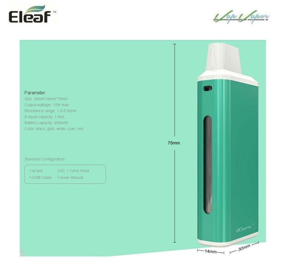 Box iCare Eleaf 650mah 1.8ml - Ítem2