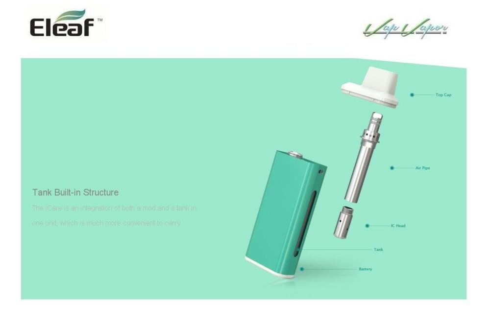 Box iCare Eleaf 650mah 1.8ml - Ítem4