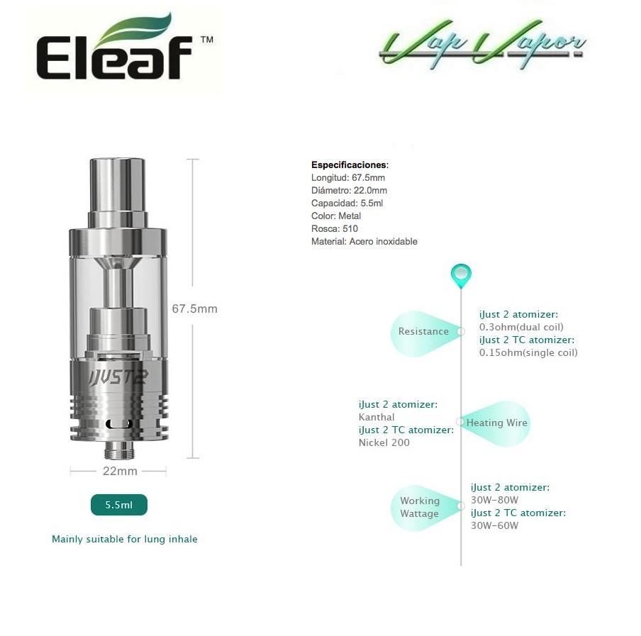 Atomizador iJust 2 Eleaf - Ítem4
