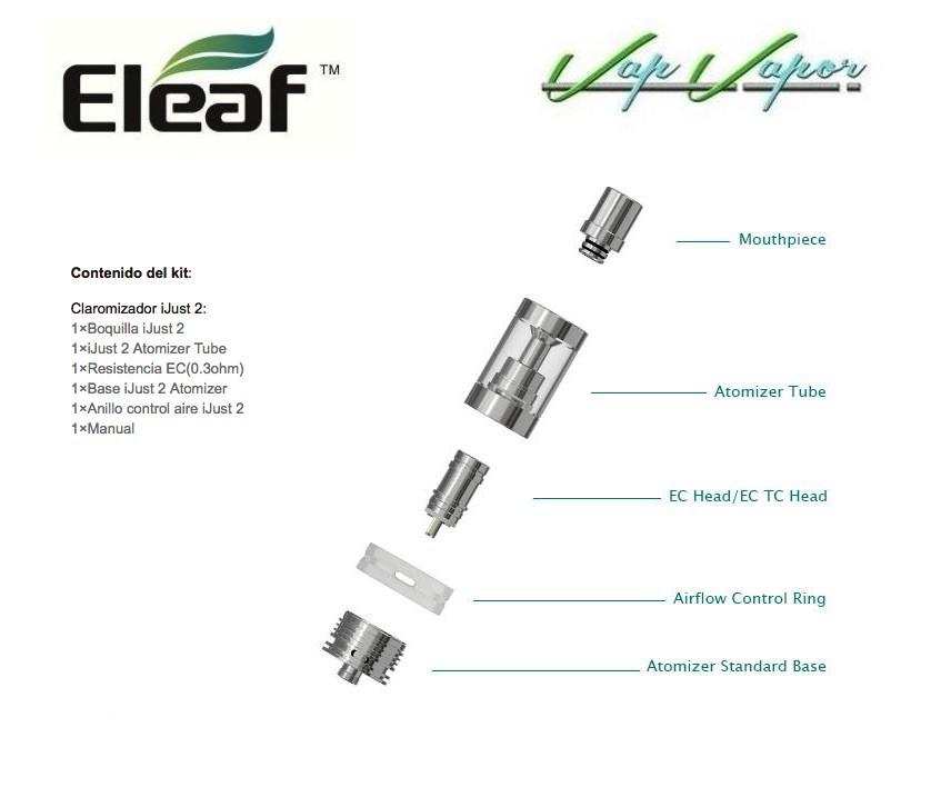 Atomizador iJust 2 Eleaf - Ítem3