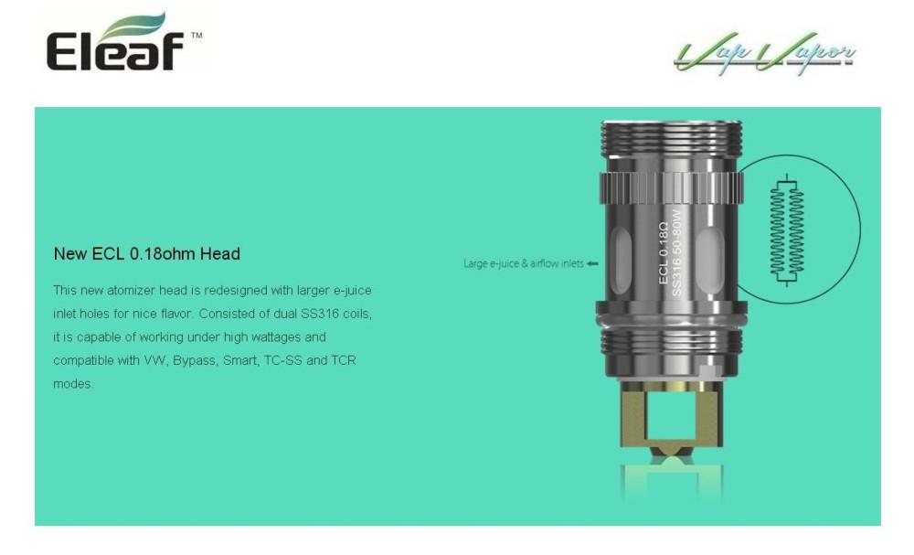 Atomizador iJust S 4ml Eleaf - Ítem3