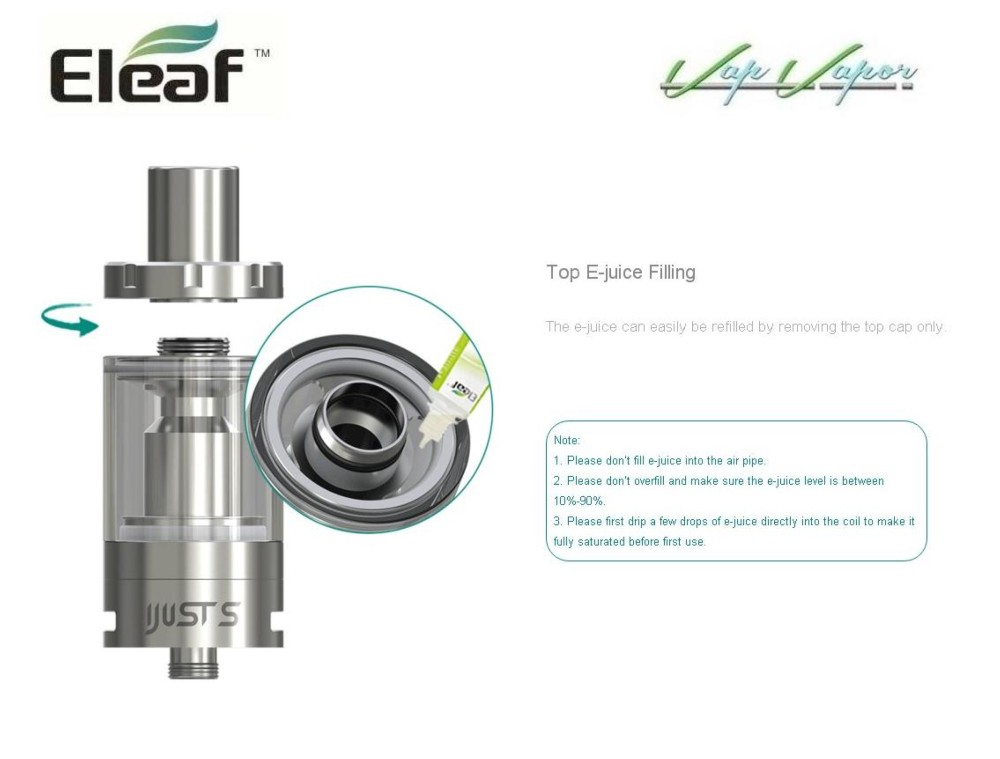 Atomizador iJust S 4ml Eleaf - Ítem2