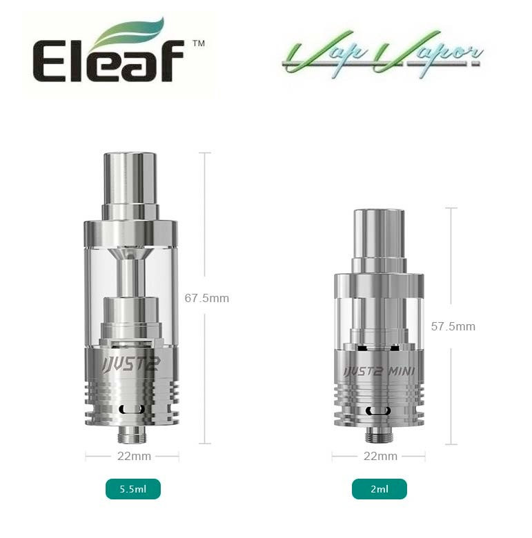 Atomizador iJust 2 Mini 2ml Eleaf - Ítem2