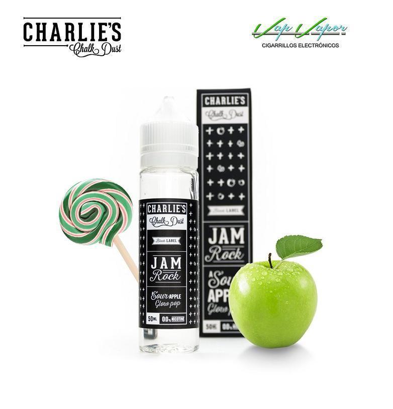 Charlies Chalk Dust Jam Rock 50ml (0mg) Manzana Verde, gominolas