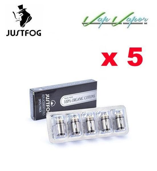 PACK 5 - Coils Justfog S14 C14 G14 Q14 Q16 - Ítem1