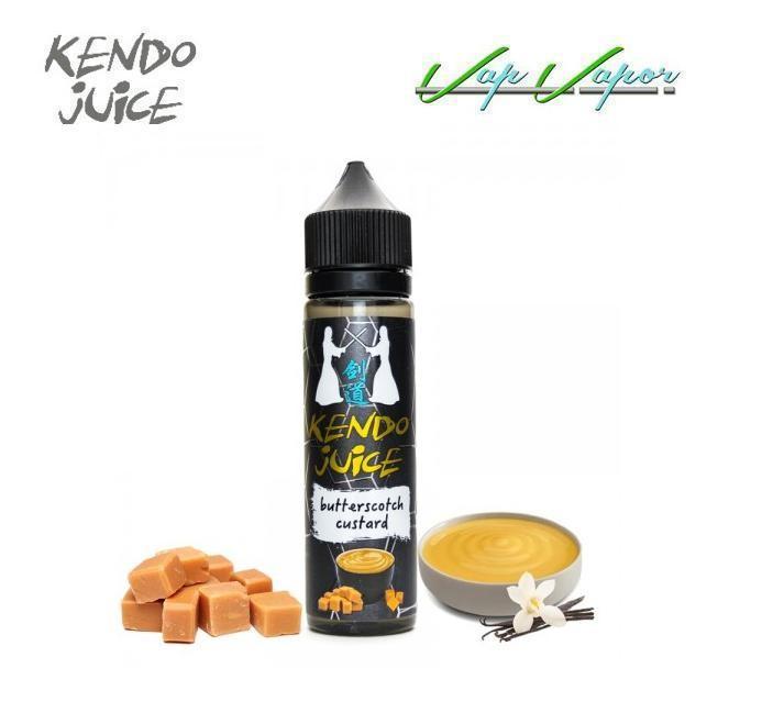 Kendo Ejuice Butterscotch Custard 50ml (0mg)
