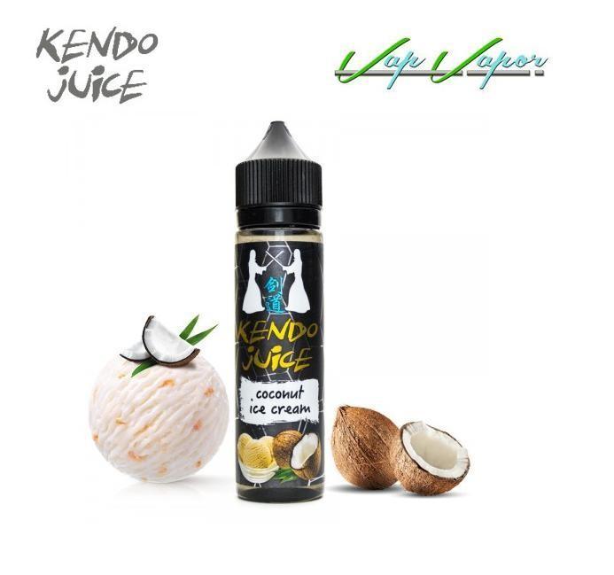 Kendo Ejuice Coconut Ice Cream 50ml (0mg)