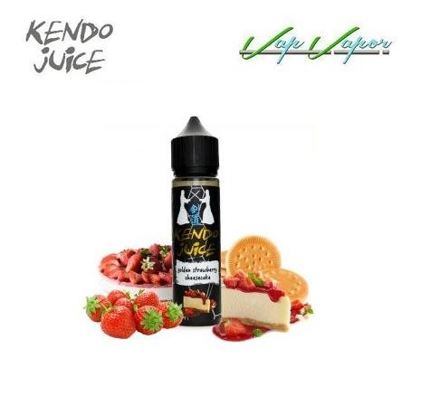 Golden Strawberry Cheesecake Kendo Juice 50ml (0mg)