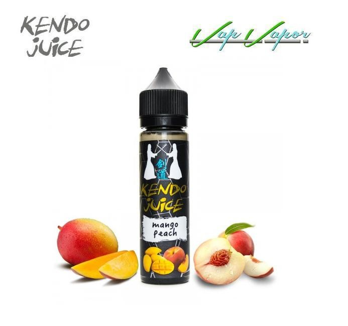 Kendo Ejuice Mango Peach 50ml (0mg) mango, melocotón