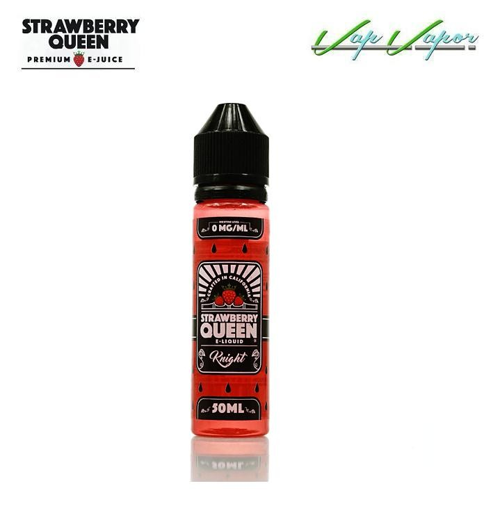 The Knight Strawberry Queen (Strawberry Cream) (0mg) Fresa