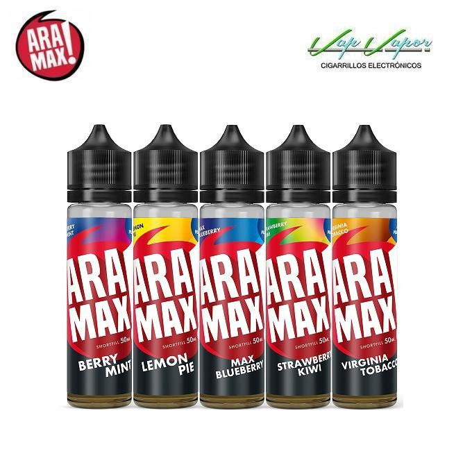 Aramax Strawberry Kiwi 50ml (0mg) Fresa y Kiwi 75VG/25PG - Ítem2