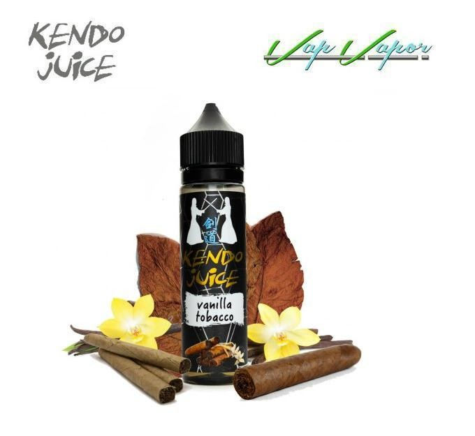 Vanilla Tobacco Kendo Juice 50ml (0mg)