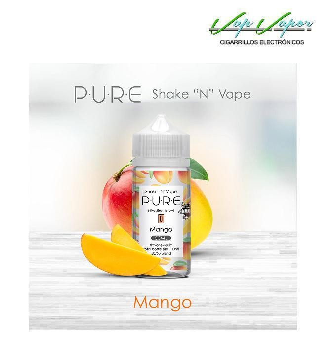 Mango 50%PG/50%VG PURE 50ml (0mg)