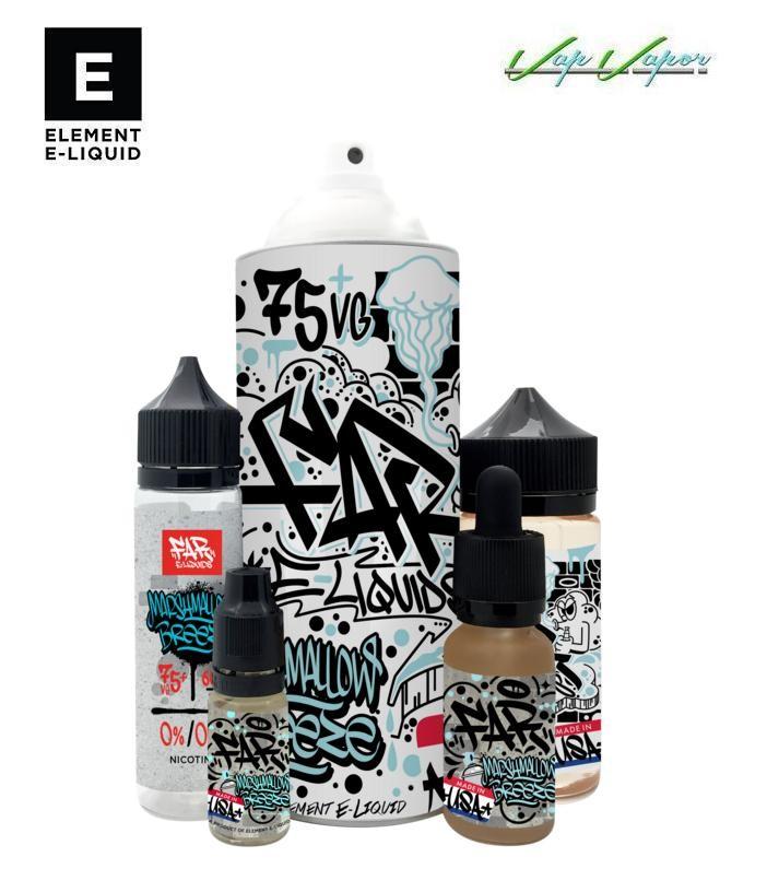 Marshmallow Breeze Element E-liquid 50ml(0mg)