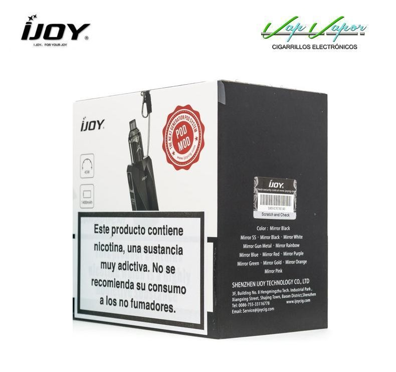 iJoy Diamond VPC 1400mah + UNIPOD 45W - Ítem3