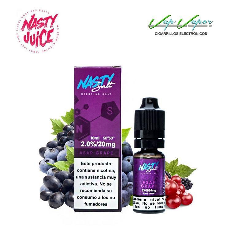 SALES Asap Grape Nasty Juice 10ml - 10mg / 20mg