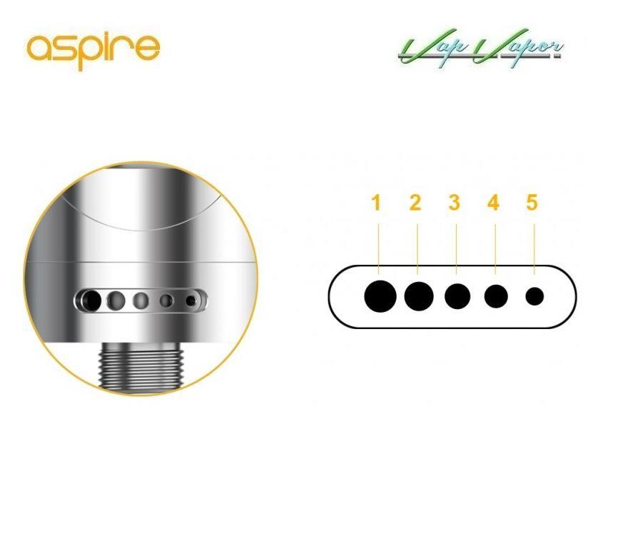 Atomizador Aspire Nautilus 2 - Ítem4