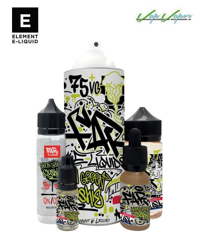 Neon Green Slushie Element E-liquid 50ml(0mg)