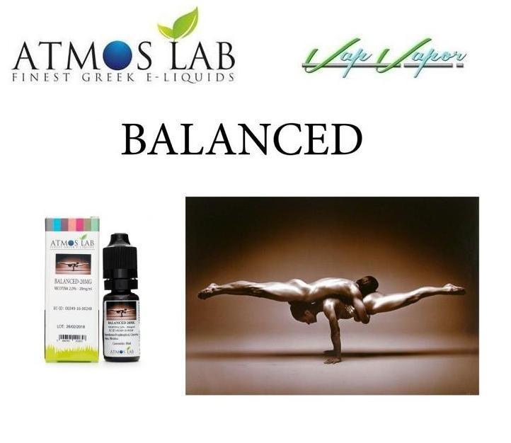 Nicokit Balanced 10ml 20mg Atmos Lab 45%PG / 45% VG / 10% agua