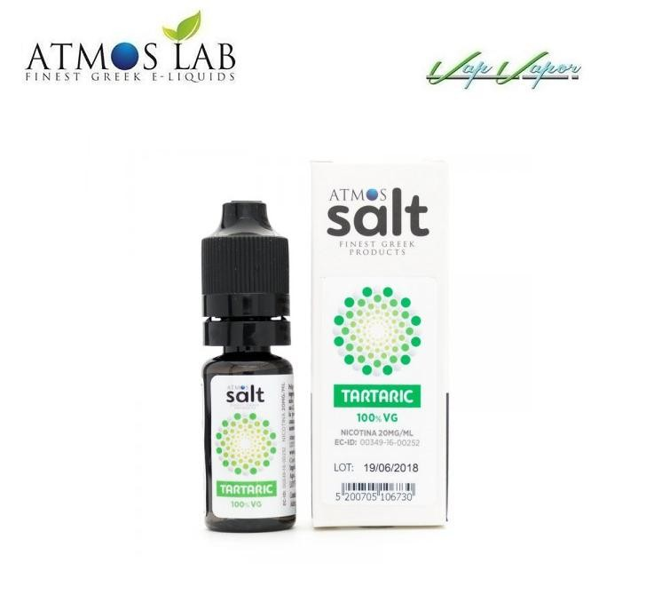 Nicokit SALT TARTARIC (100% VG) 10ml 20mg Atmoslab