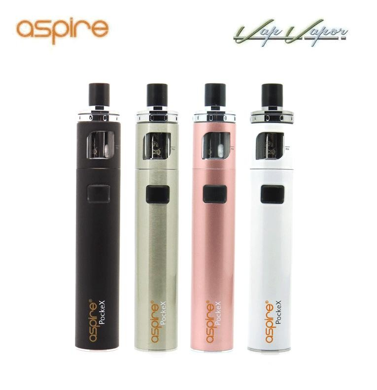 PockeX Pocket AIO Aspire 2ml 1500mah Kit Completo - Ítem1