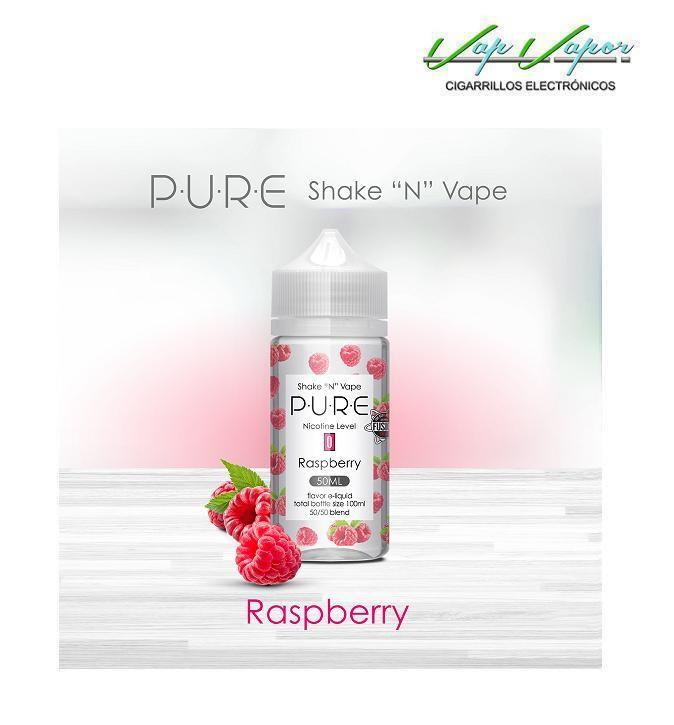 Raspberry (Frambuesa) 50%PG/50%VG PURE 50ml (0mg)
