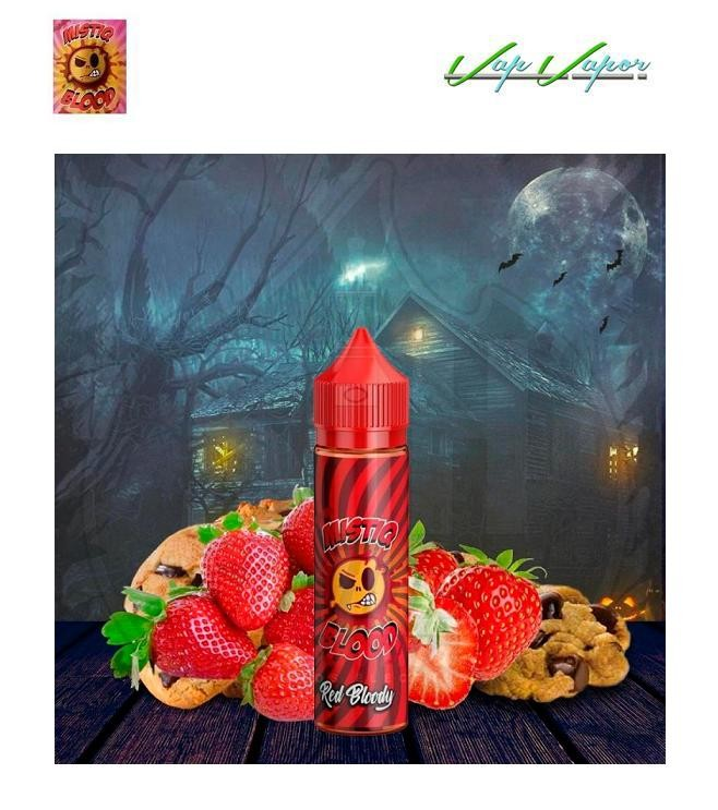 Mistiq BLOOD Red Bloody 50ml (0mg) Galleta de Fresa - Ítem1