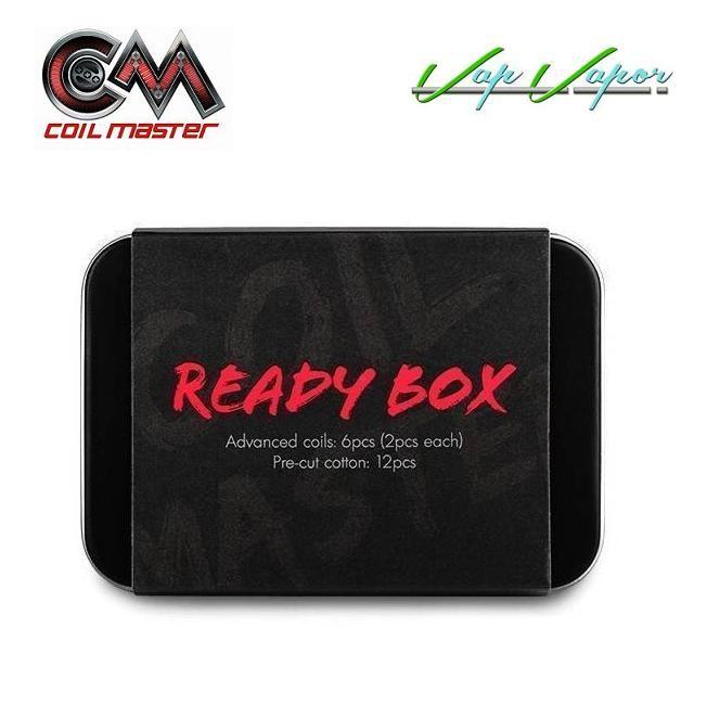 Pack 6 resistencias con Algodón Ready Box Coil Master - Ítem2