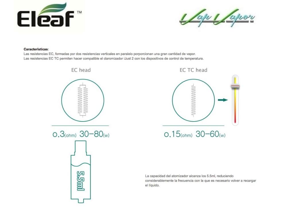 Atomizador iJust 2 Eleaf - Ítem8