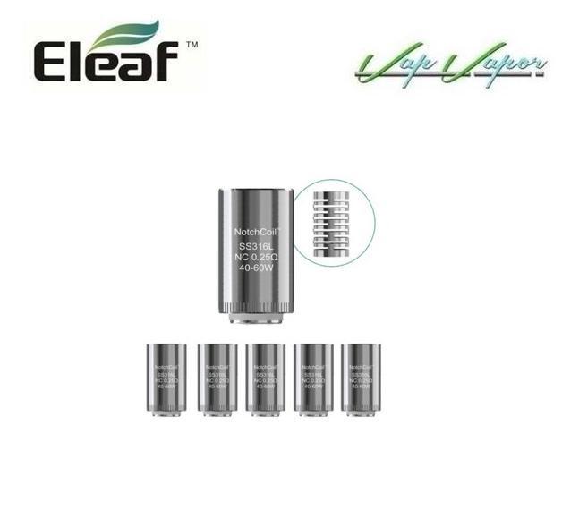 Resistencias SS316L Lyche Eleaf 0.25ohm