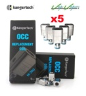 PACK Resistencias Kangertech OCC Ni200 0.15ohms