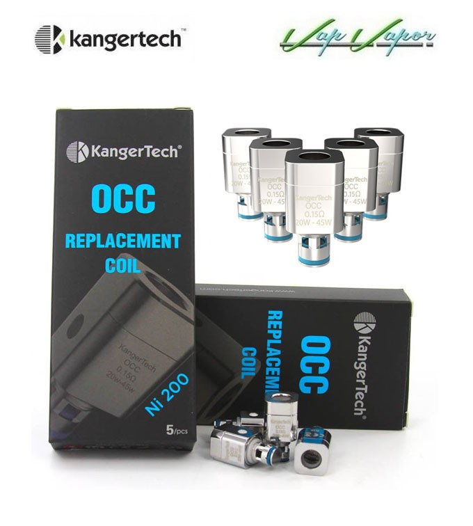 Resistencias Kangertech OCC Ni200 0.15ohms