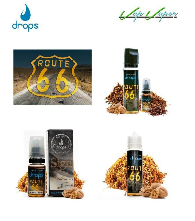 DROPS Route 66 10ml / 30ml / 50ml(0mg) / 60ml(3mg)