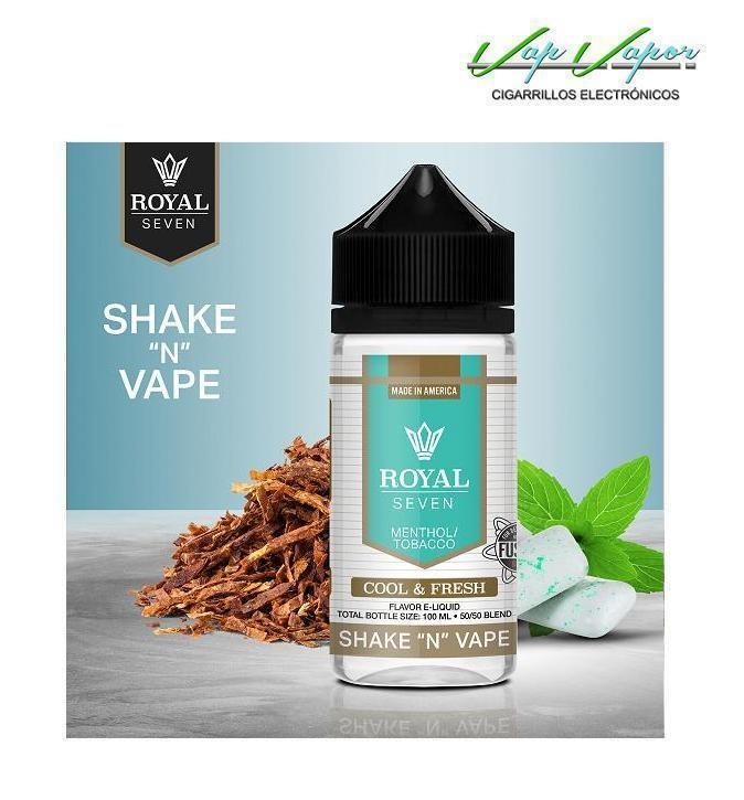 Cool Fresh (Tabaco y Mentol) Royal Seven 50ml (0mg)