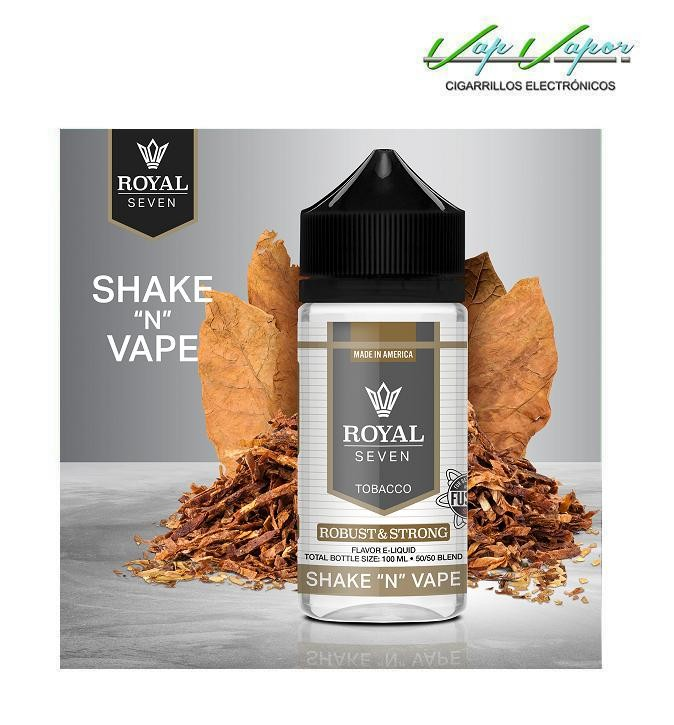 Robust & Strong (Tabaco Robusto y Fuerte) Royal Seven 50ml (0mg)