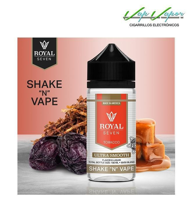 Ultra Smooth 50%PG/50%VG Royal Seven 50ml (0mg)