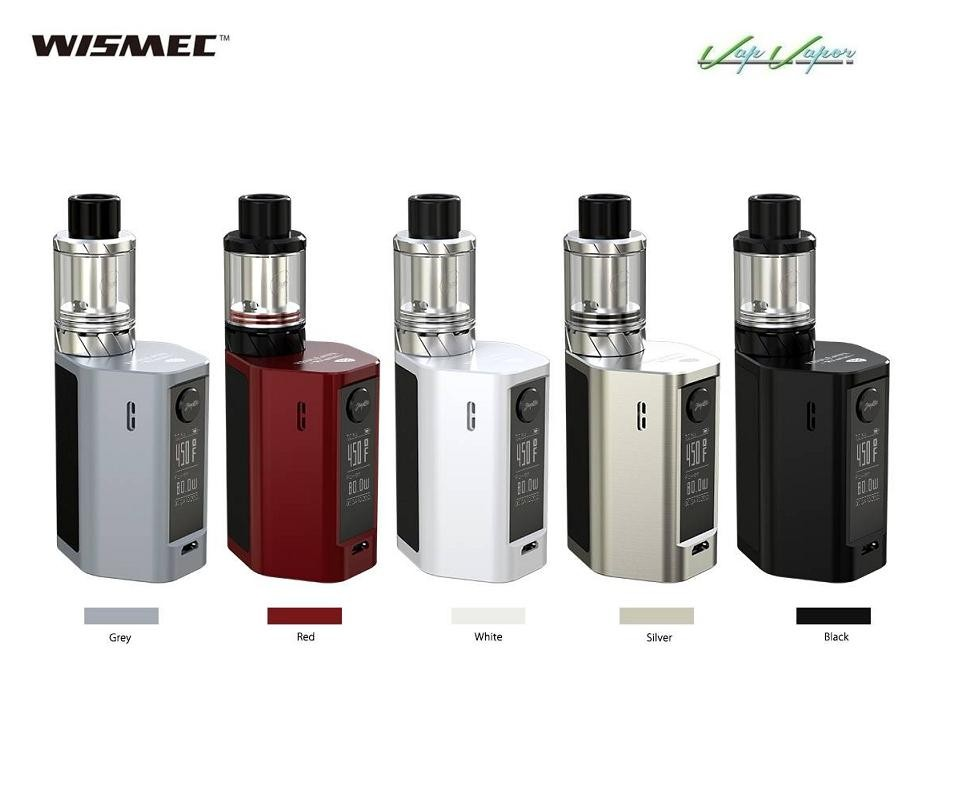 RX Mini Wismec Kit Completo 2100mah 80W 2ml