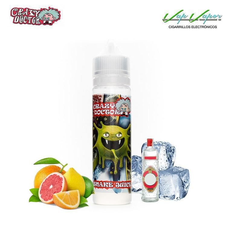 Crazy Doctor Snake Juice 50ml (0mg) CÍTRICOS, ANÍS (FRESCO)