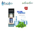 Tripack ( 3 x 10ml) SUBZERO Halo