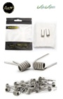 Pack 2 resistencias hechas manualmente TRIPLE FUSED - Coil Art 0.3ohm
