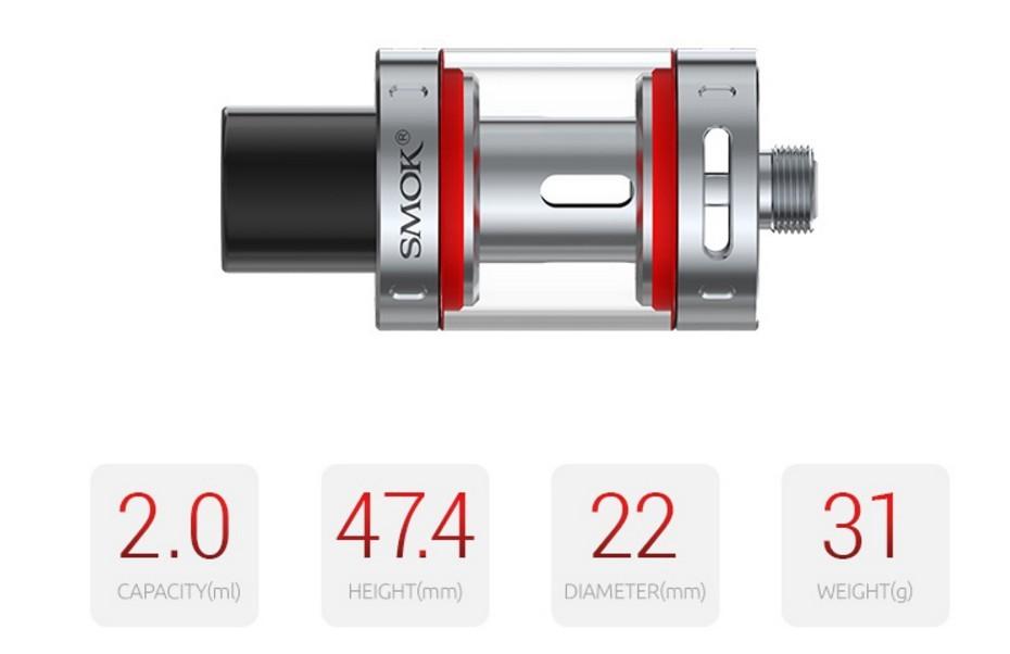 Atomizador Vape Pen Tank 2ml Smok - Ítem6
