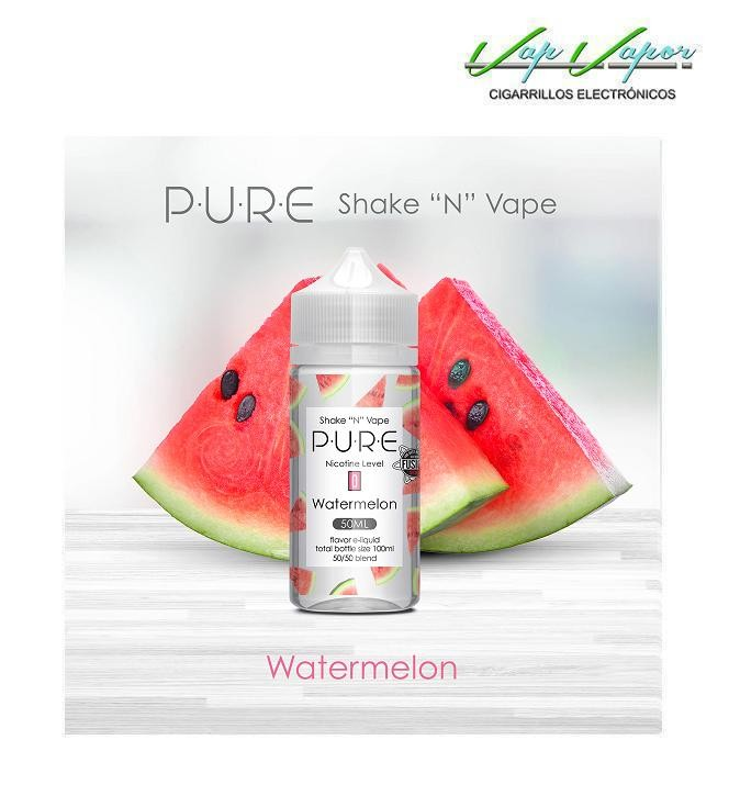 Watermelon (Sandía) 50%PG/50%VG PURE 50ml (0mg)