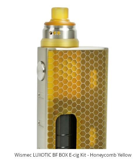 Wismec Luxotic BF Box Mod + Tobhino RDA - Ítem8