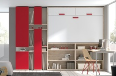 Cama abatible horizontal Red