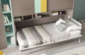 Cama abatible horizontal Lina